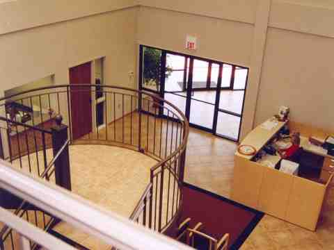 Entry Area Stairs